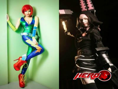 Awesome Cosplay looks of Myrtle Sarrosa