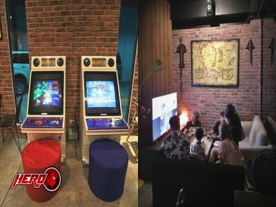 This restaurant allows you to play video games