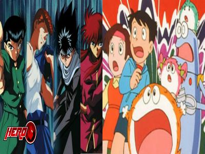 Anime shows we loved in the 90's