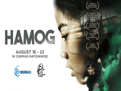 Cinema List for Hamog during the PPP 2017