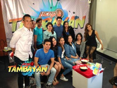 Hero Tambayan airs first live episode online