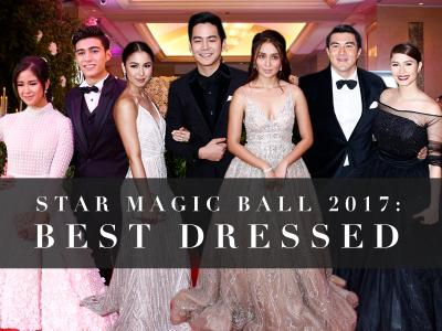 Star Magic Ball 2017 Best Dressed