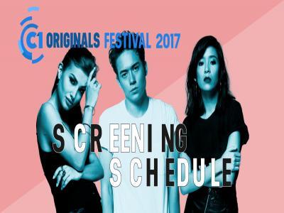 C1 Originals 2017 Festival Schedule