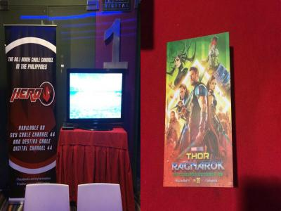 Thor: Ragnarok screening