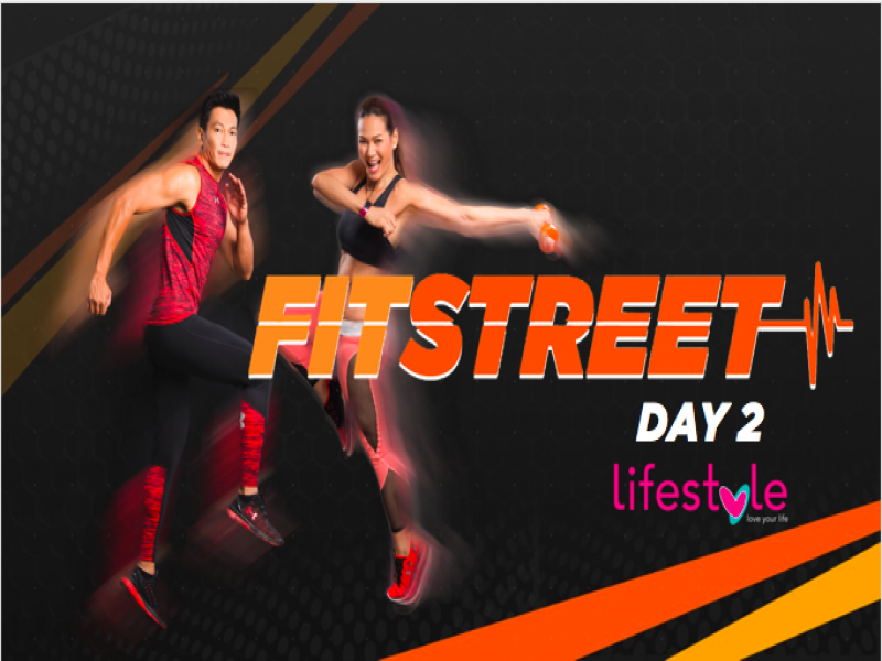 Here's what you'll expect on the second day of FitStreet! Come on down to the Bonifacio High Street Amphitheater now!
