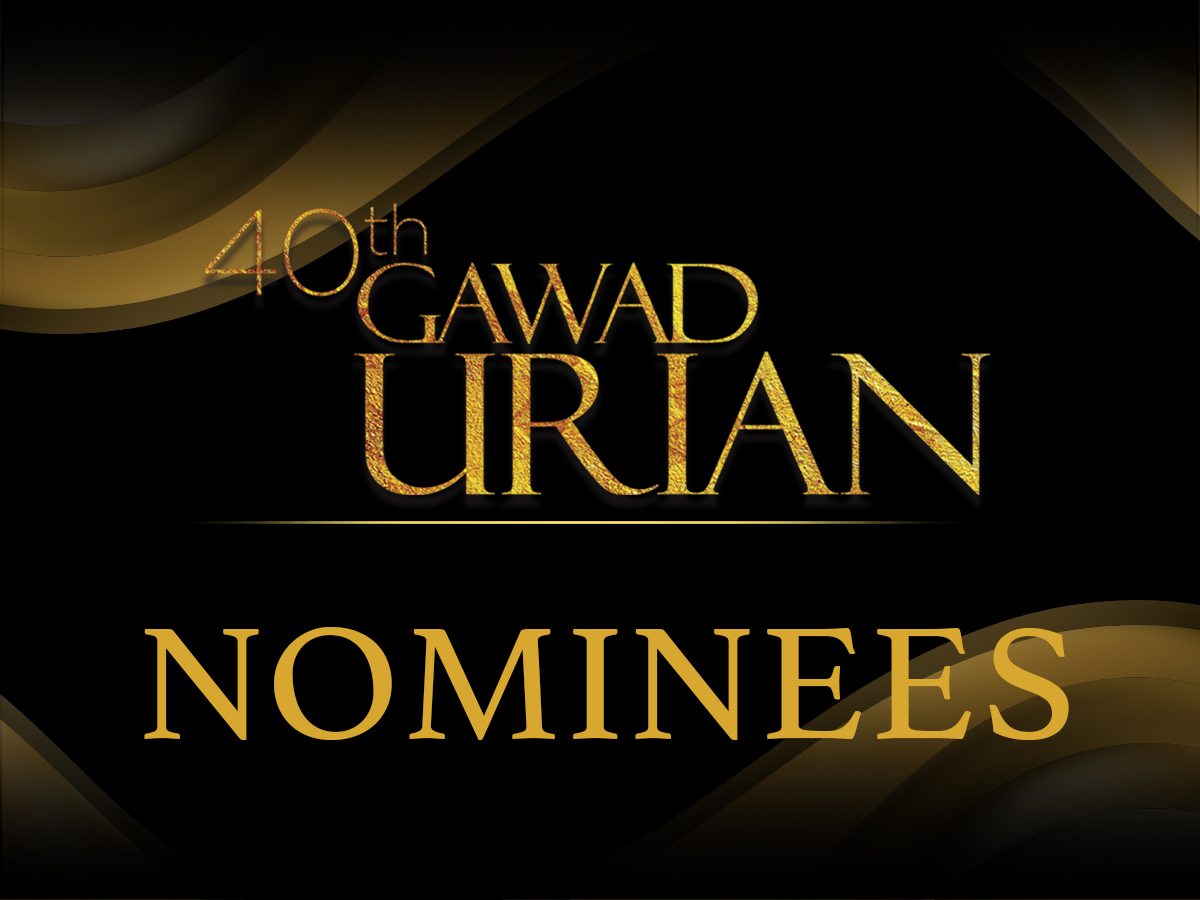 40th Gawad Urian Nominees