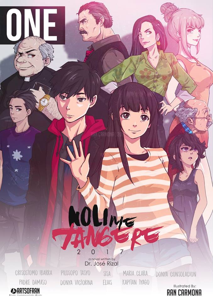Noli Me Tangere cover reimagined