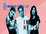C1 Originals 2017 Festival Schedule